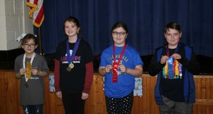 Isonville Elementary Hosts Governor's Cup