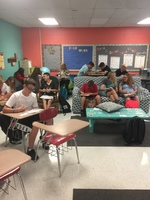 Flexible Seating in 7th Grade Math