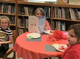 Book Tasting at Isonville Elementary